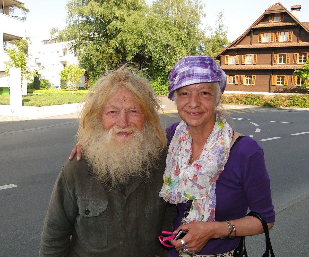 Bieri Josef alias «Rottanndli» (1928 -2011) und Siegrid Weis (1954-2017).