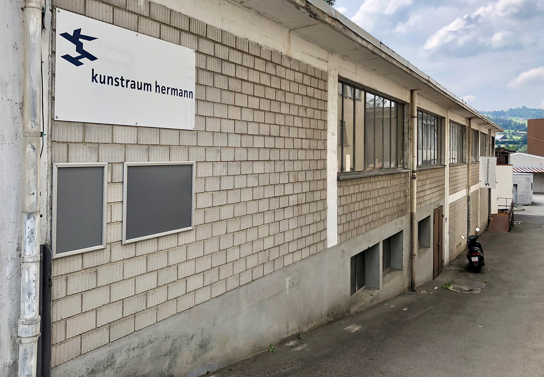 Der Kunstraum Hermann in Hochdorf.