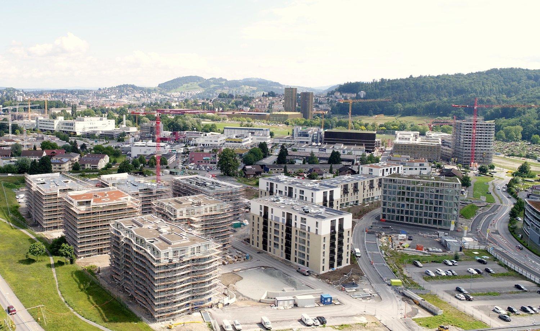 Hierhin zieht es das Ehepaar Baumgartner: das neue Quartier Schweighof.
