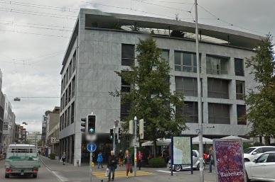 Bahnhofstrasse 2, beim Postplatz in Zug: Vor zwei Wochen durchsuchte hier die Polizei die Räumlichkeiten der Quantum-Global-Gruppe.
