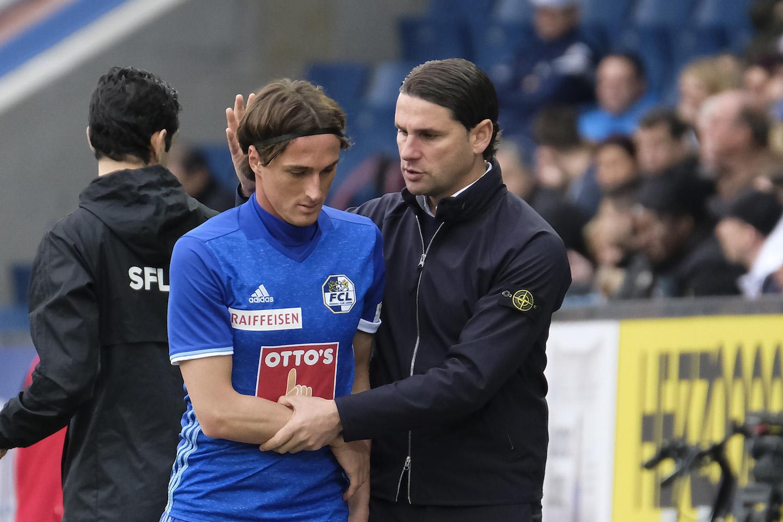 Hekuran Kryeziu und Trainer Gerardo Seoane haben den FCL verlassen und werden beim Trainingsstart nicht mehr an Bord sein.