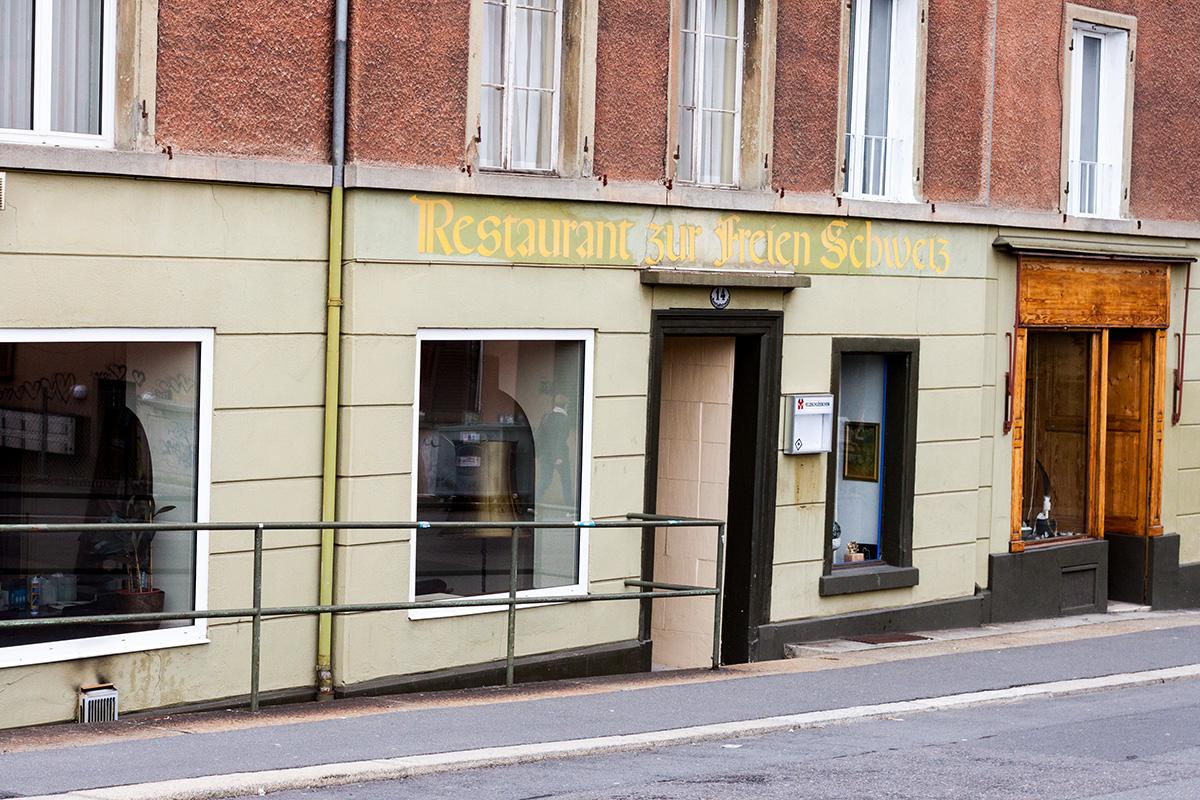 Das «Restaurant zur freien Schweiz» wurde nach «Zur Freiheit» zur «Bar Berlin». Hier wirtet Sascha Welz.