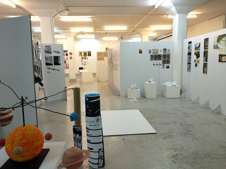 Die private Kunstschule ist in den Räumen der ehemaligen Farbmühle zuhause.