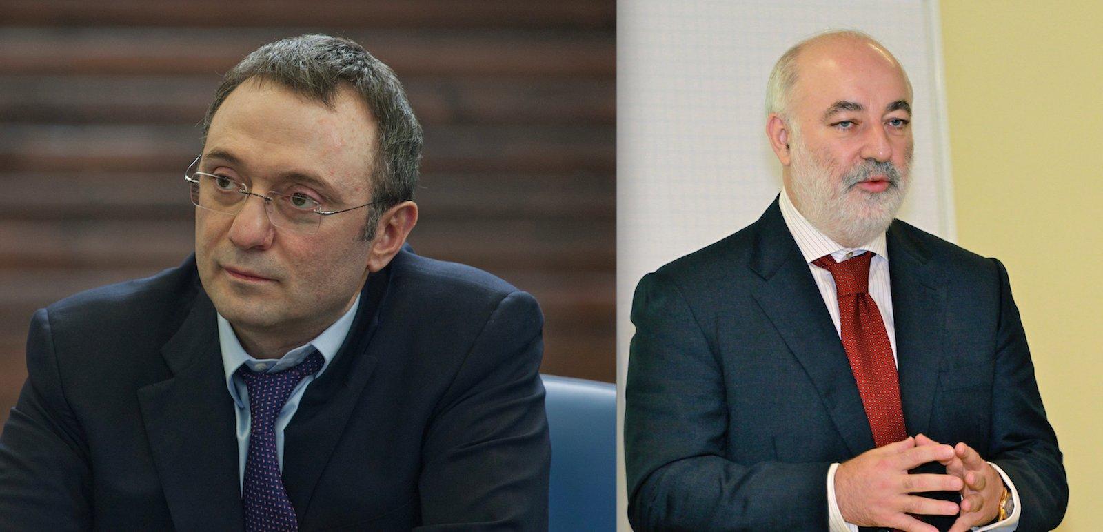 Zwei der insgesamt drei sanktionierten Oligarchen mit Verbindungen in die Zentralschweiz: Suleiman Kerimov (links) und Viktor Vekselberg.