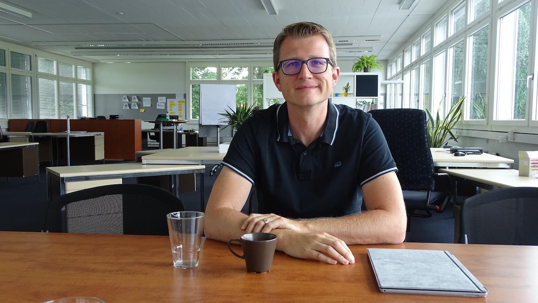 Marcel Stocker ist der Geschäftsführer der Startup-Station.