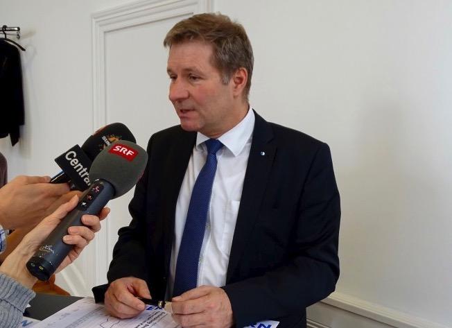 Finanzdirektor Marcel Schwerzmann erhofft sich viel von der Steuervorlage 17.