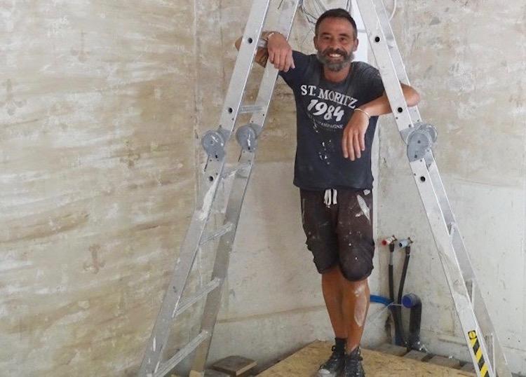 Gianpaolo Giuliano ist momentan noch im Eröfnungsstress und konnte sich noch nicht mit dem Knatsch befassen.