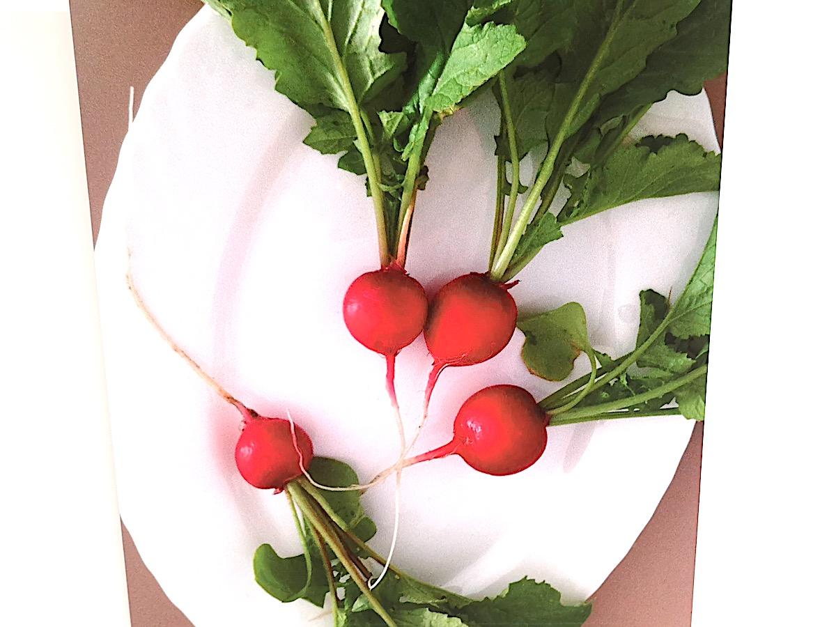 Digitales Gemüse: Nadas' Radieschen sehen so unverschämt knackig aus, dass sie wie ein Werbefoto wirken.
