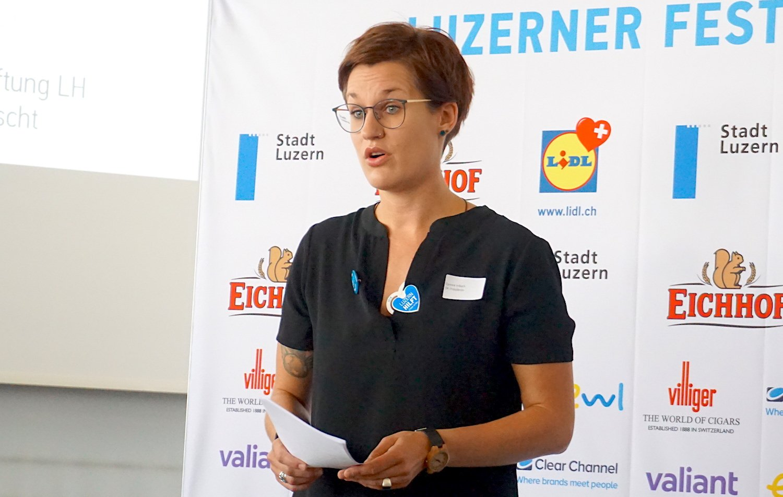 «Auswärtige sollen kommen, aber Luzern dabei entdecken»: OK-Präsidentin Corinne Imbach will das Fest intimer und lokaler machen.