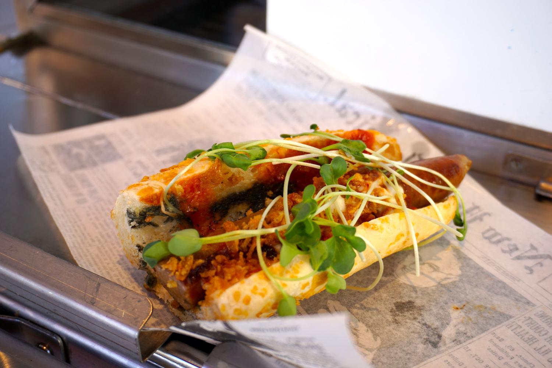 Hotdog, garantiert ohne Ketchup-Fiasko.