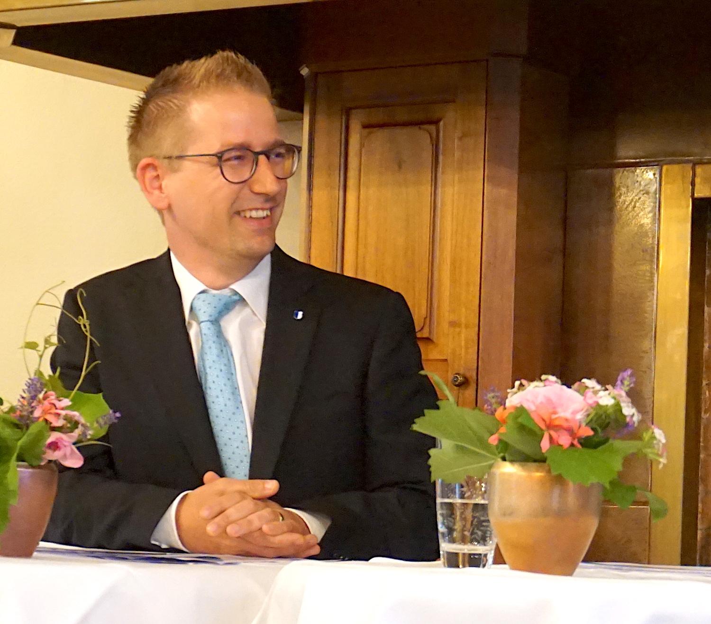 Jim Wolanin aus Neuenkirch will nicht als Supersparminister wahrgenommen werden.