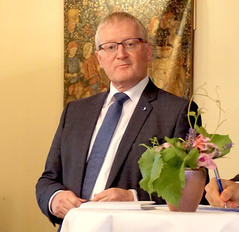 Rolf Born aus Emmen nennt FDP-Urgestein Franz Steinegger als Vorbild.