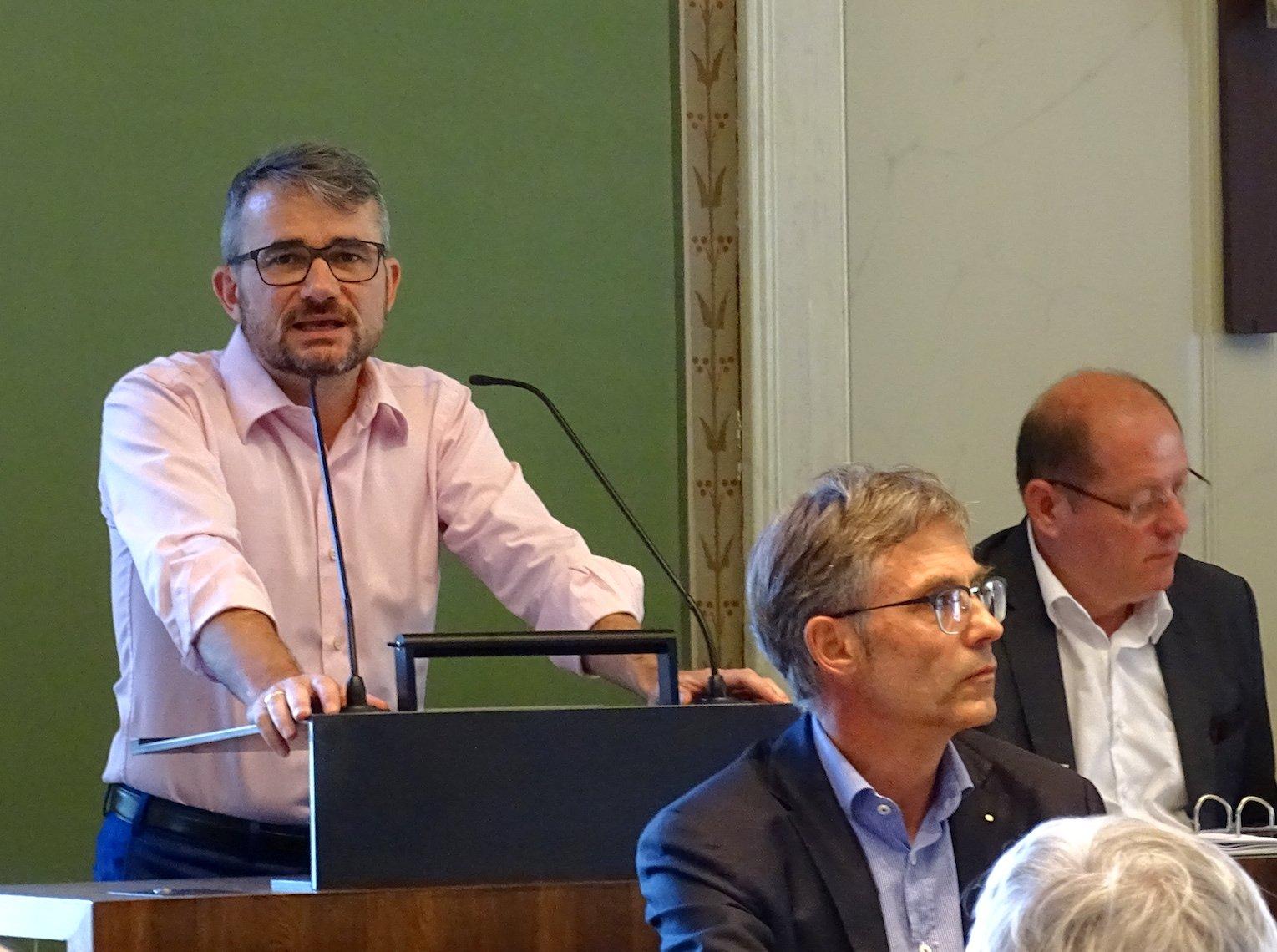 Stefan Moos, Fraktionschef der FDP im GGR: