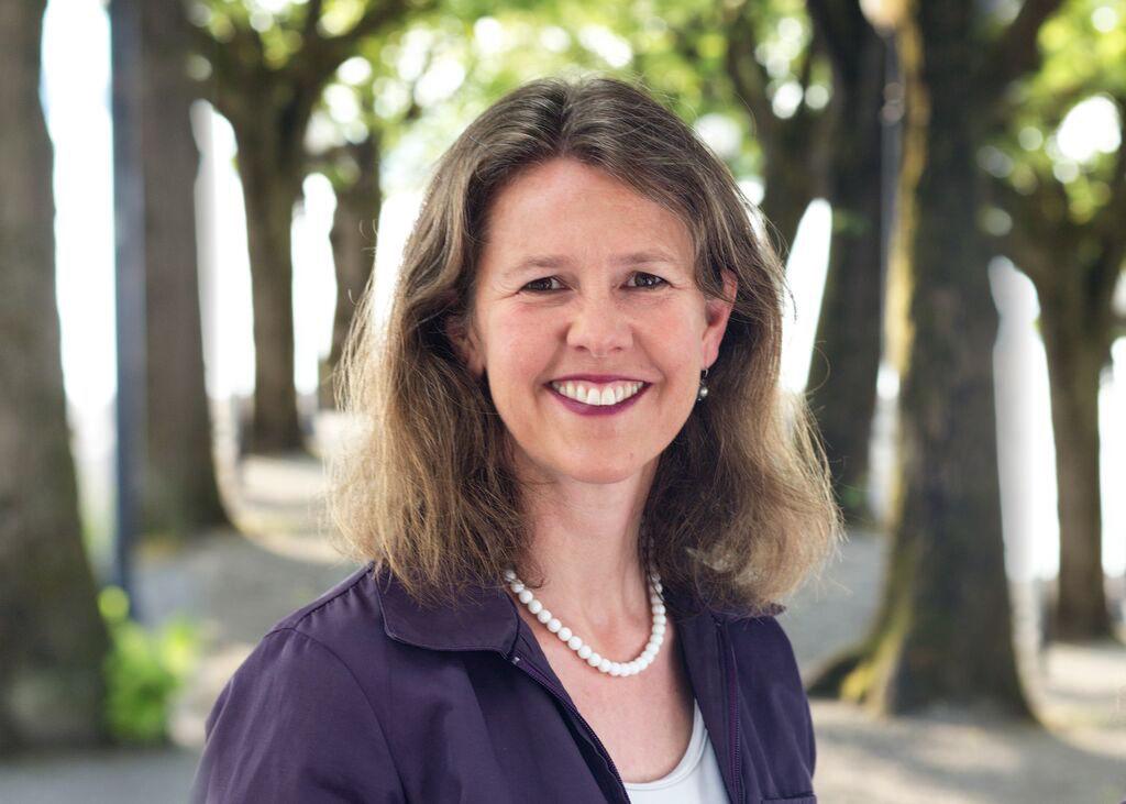 Astrid Estermann verzichtet auf Facebook. Sie setzt lieber auf den persönlichem Kontakt mit ihren Wählern.