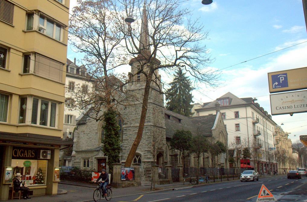 Die Haldenstrasse in Luzern: Eine Route, die viele Velofahrer lieber umfahren.
