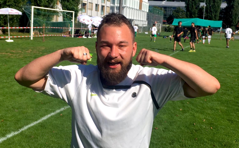 Erster Torschütze in den Farben von zentralplus: Gian Waldvogel.