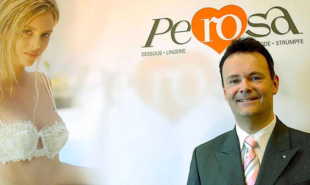 Hat keine Angst vor Hunkemöller: Perosa-Chef Roger Schärer.