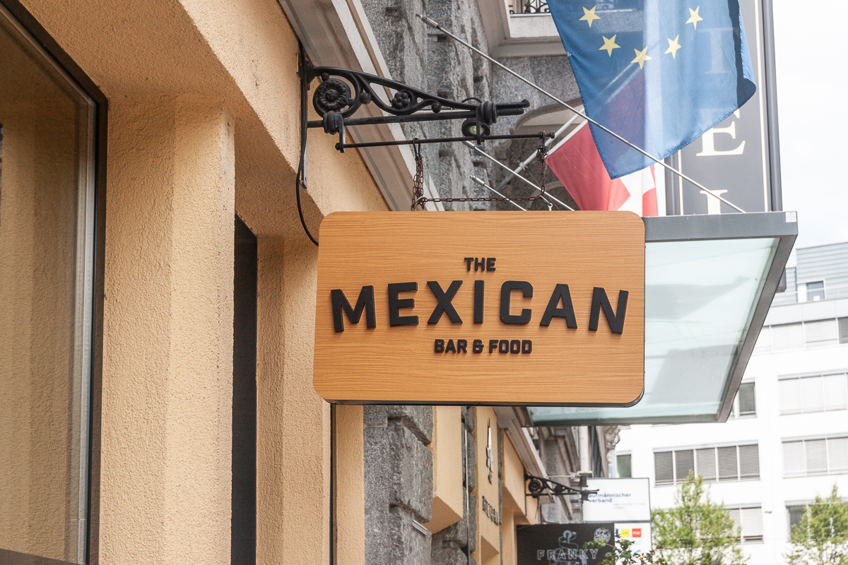 «The Mexican» an der Frankenstrassen in der Luzerner Neustadt.