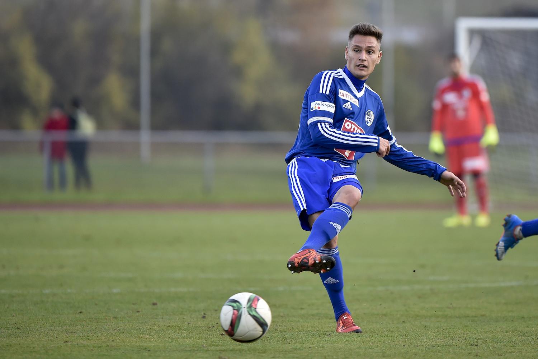 Olivier Kleiner kam im Herbst 2015 beim FCL zu einem Einsatz in einem Testspiel.