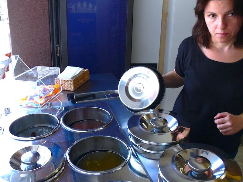 Cherli de Cocinis im Il Gusto an der Neugasse setzt voll auf italienische Spezialitäten.