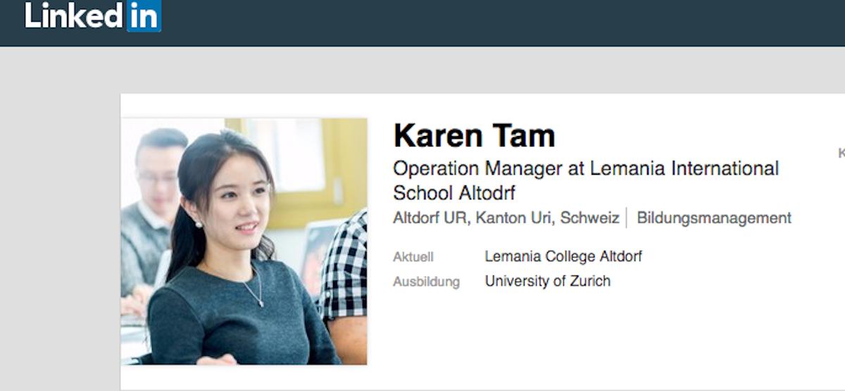 Chefin des Bella Vista: die Chinesin Karen Tam aus Altdorf.