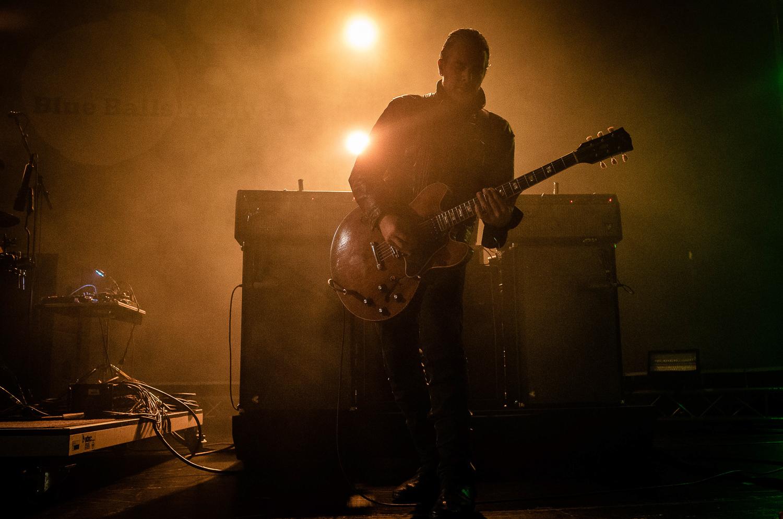 Gitarrist und Sänger Peter Hayes von Black Rebel Motorcycle Club.