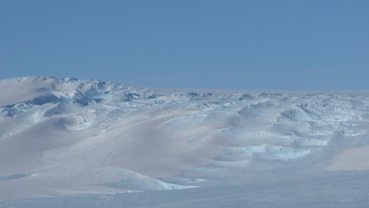 Mawson Station in der Antarktis: Da hätte es Platz für eine Menge Loipen.