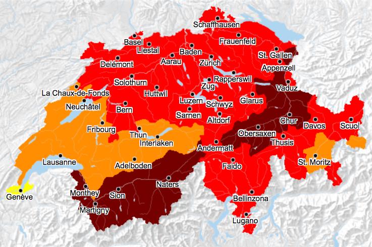 Derzeit herrscht in Zug sehr grosse Waldbrandgefahr. Darum haben die Kantone Zug und Luzern ein Feuerverbot erlassen.