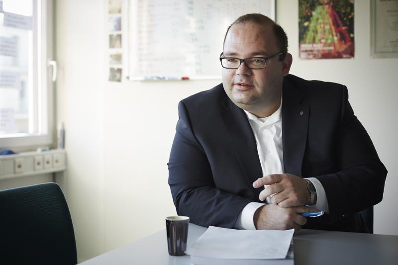 Armin Hartmann (38), SVP-Kantonsrat, Ökonom und Gemeindeammann von Schlierbach