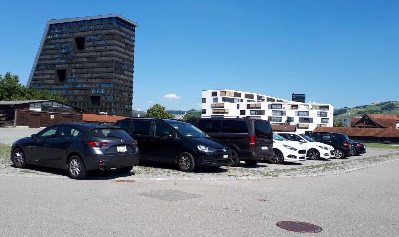 Stierenmarkt: Hier kann man unter der Woche parkieren – aber erst am Abend.