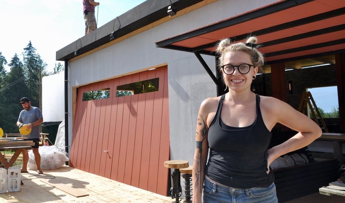 Sie leitet das Gastro-Team: Laura Hürlimann.