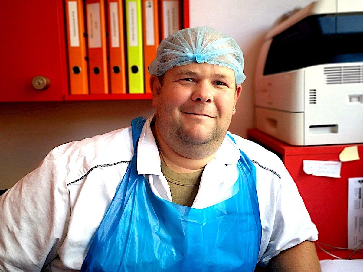Er liebt seinen Beruf: Urs Meier.