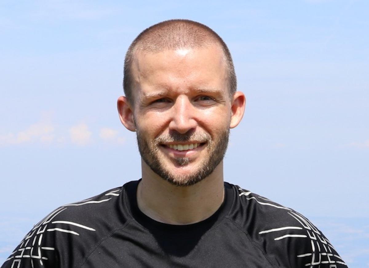 32-jährig, 1.68 Meter gross und 65 Kilos schwer: Extremsportler Silvan Burkhalter.