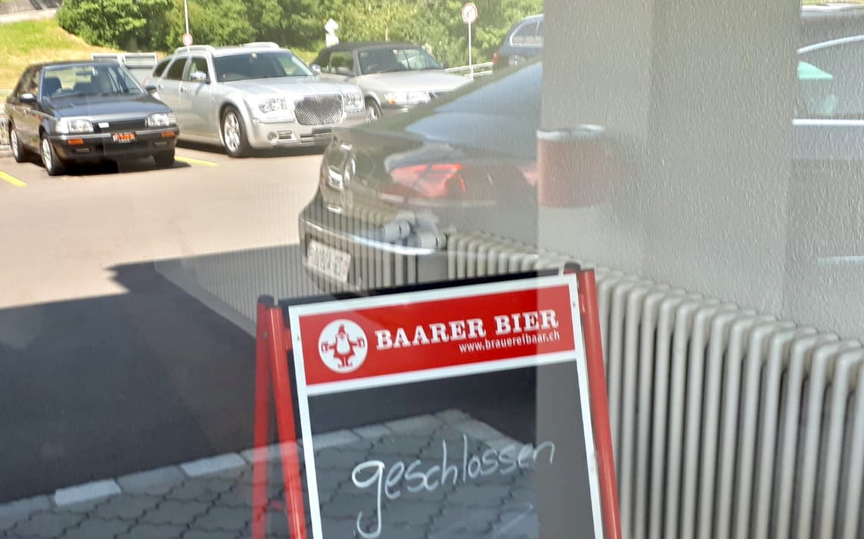 Kein Einlass: Restaurant Schmidtl-Stübli.