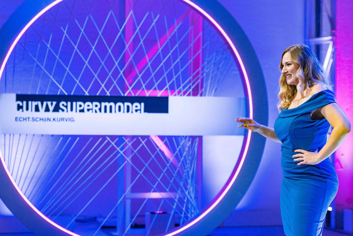 Rahel Kuoni bei ihrem RTL-2-Auftritt.