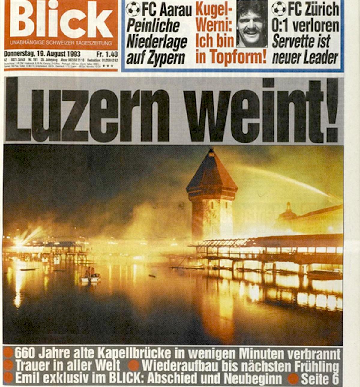 Die Schlagzeilen gingen um die Welt. «Blick» brachte es im Titel auf den Punkt.