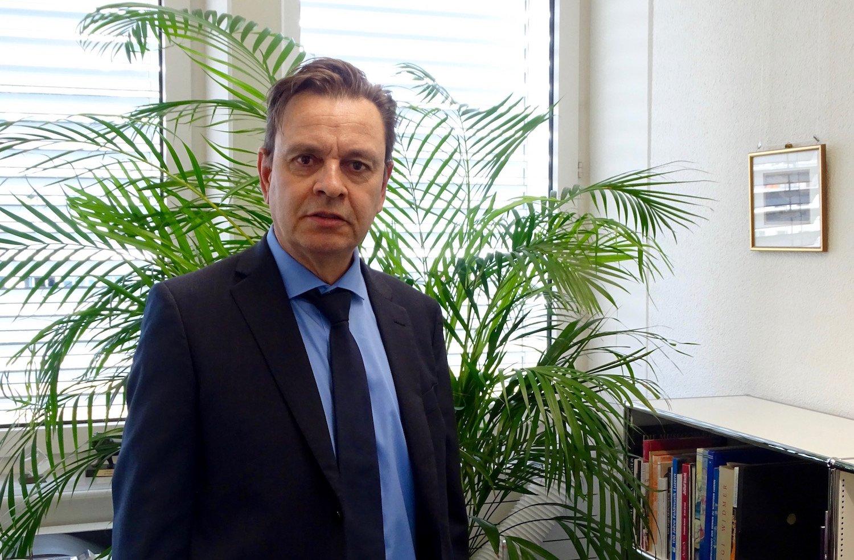 Martin Bucherer leitet die Dienststelle Wirtschaft und Arbeit.
