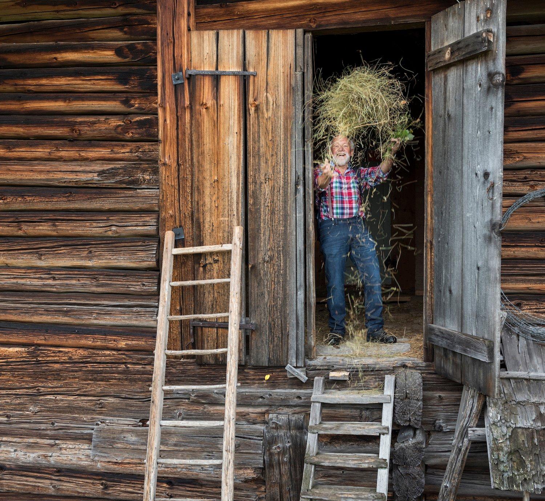 Er kreierte die Heusuppe, lange bevor Naturküche en vogue wurde: Chrüteroski.