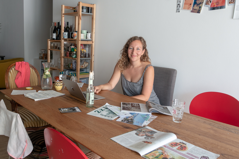 Romina Demarmels ist in der Teiggi in eine von zwei WGs gezogen.