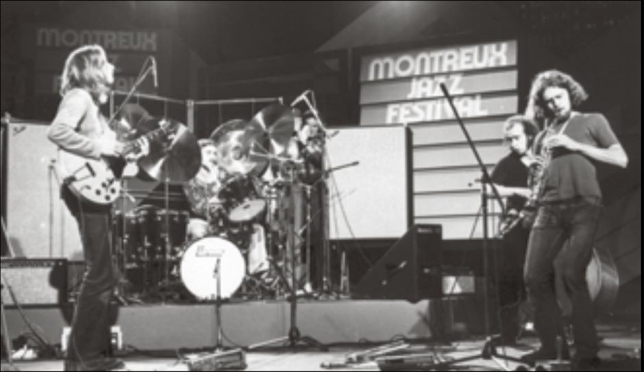 «OM» am Jazzfestival Montreux 1974.