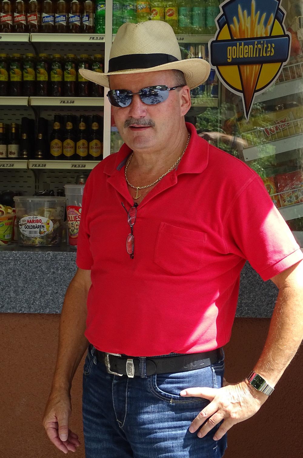 Josef Moser ist der Chef des Ufschötti-Kiosks.