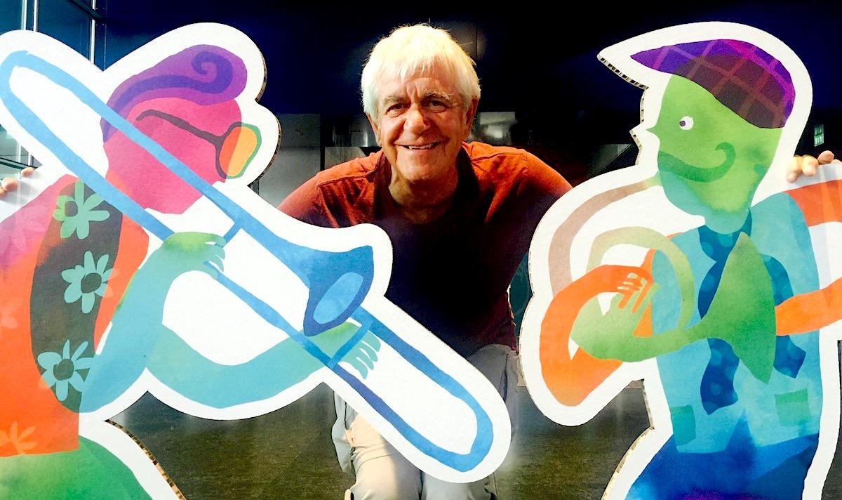 Hatte seine Künstler immer im Griff: «In den Strassen»-Veranstalter Hugo Faas.