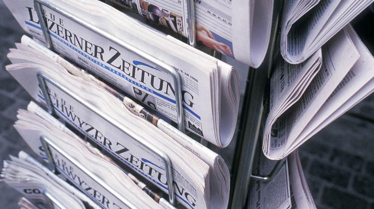 Zentralschweizer Print-Medien verlieren weitere Leser