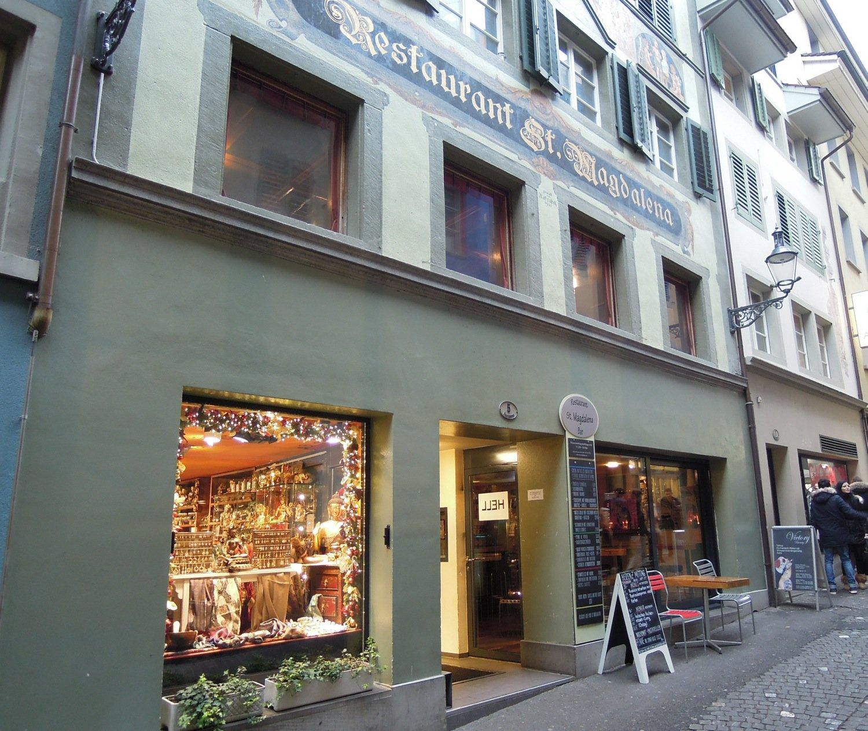 Das Restaurant St. Magdalena in der Eisengasse in der Luzerner Altstadt.