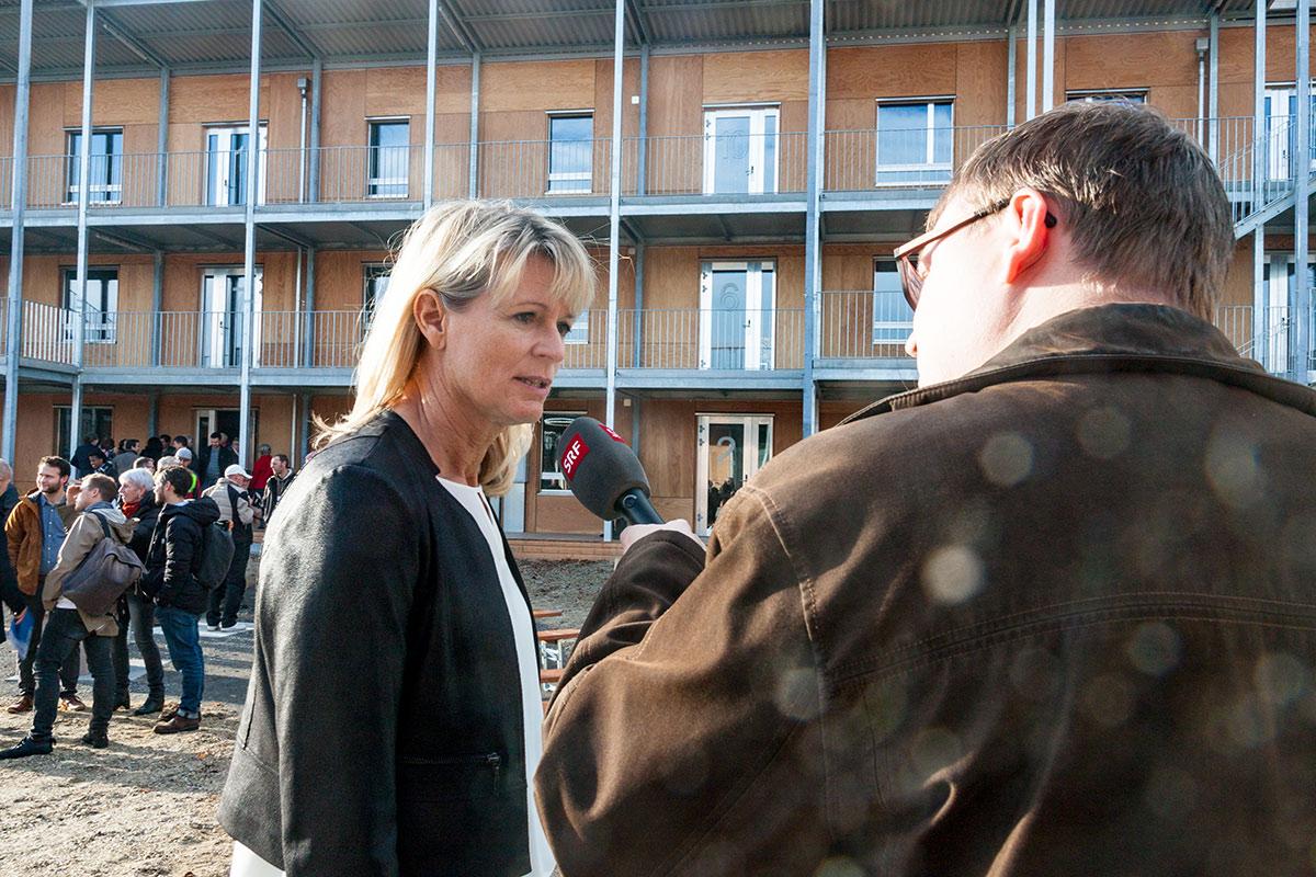 Silvia Bolliger, Leiterin Dienststelle Asyl- und Flüchtlingswesen, im Interview.