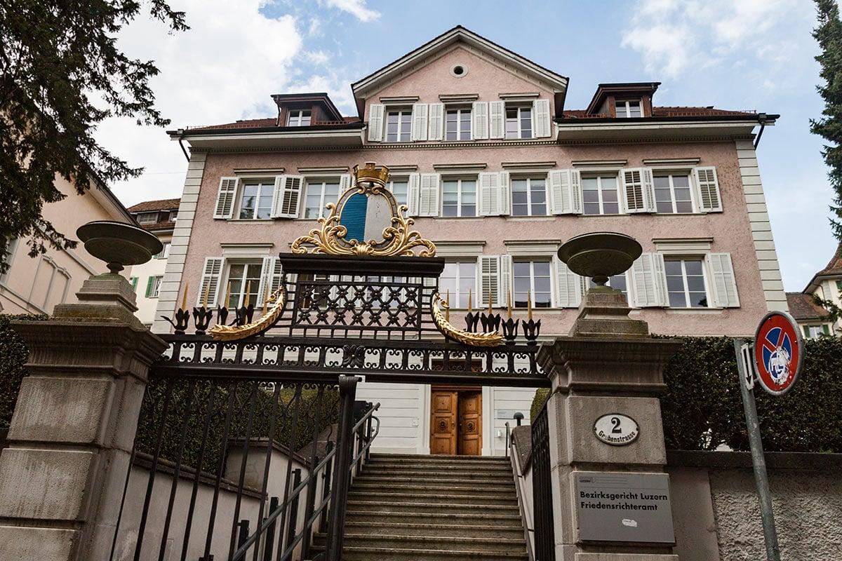 Die Verhandlung fand am Montag vor dem Bezirksgericht Luzern statt.