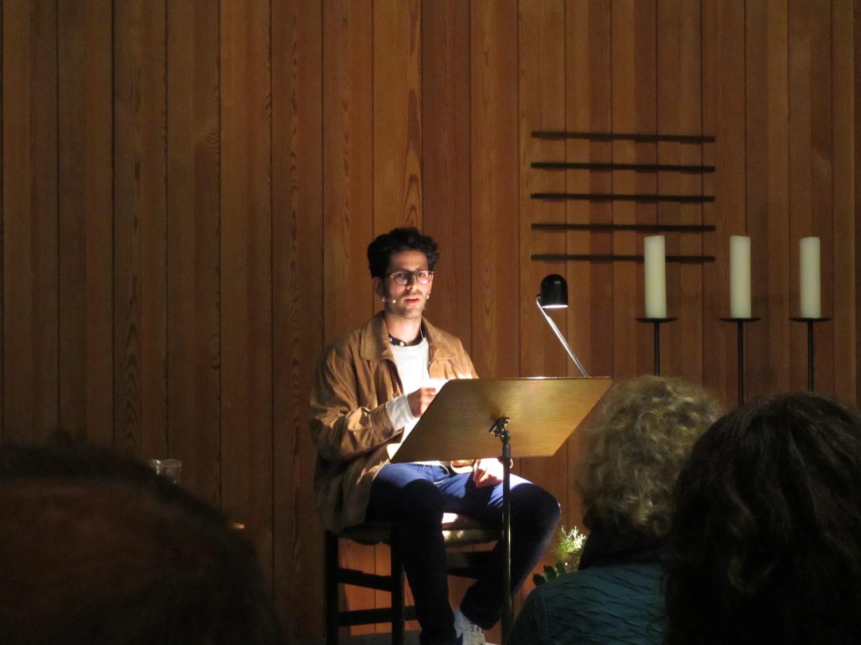 Patric Marino setzt auf Spoken Word.