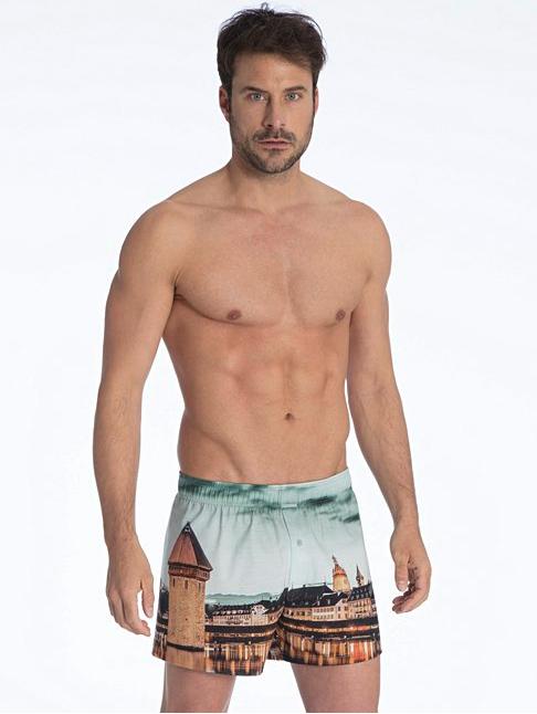 So sieht die Unterhose mit dazugehörigem Waschbrettbauch aus.