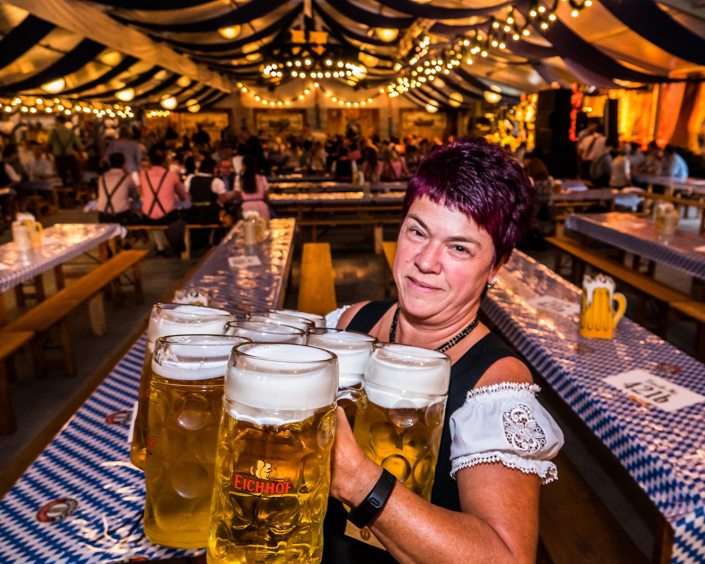 Schwerarbeit am Luzerner Oktoberfest