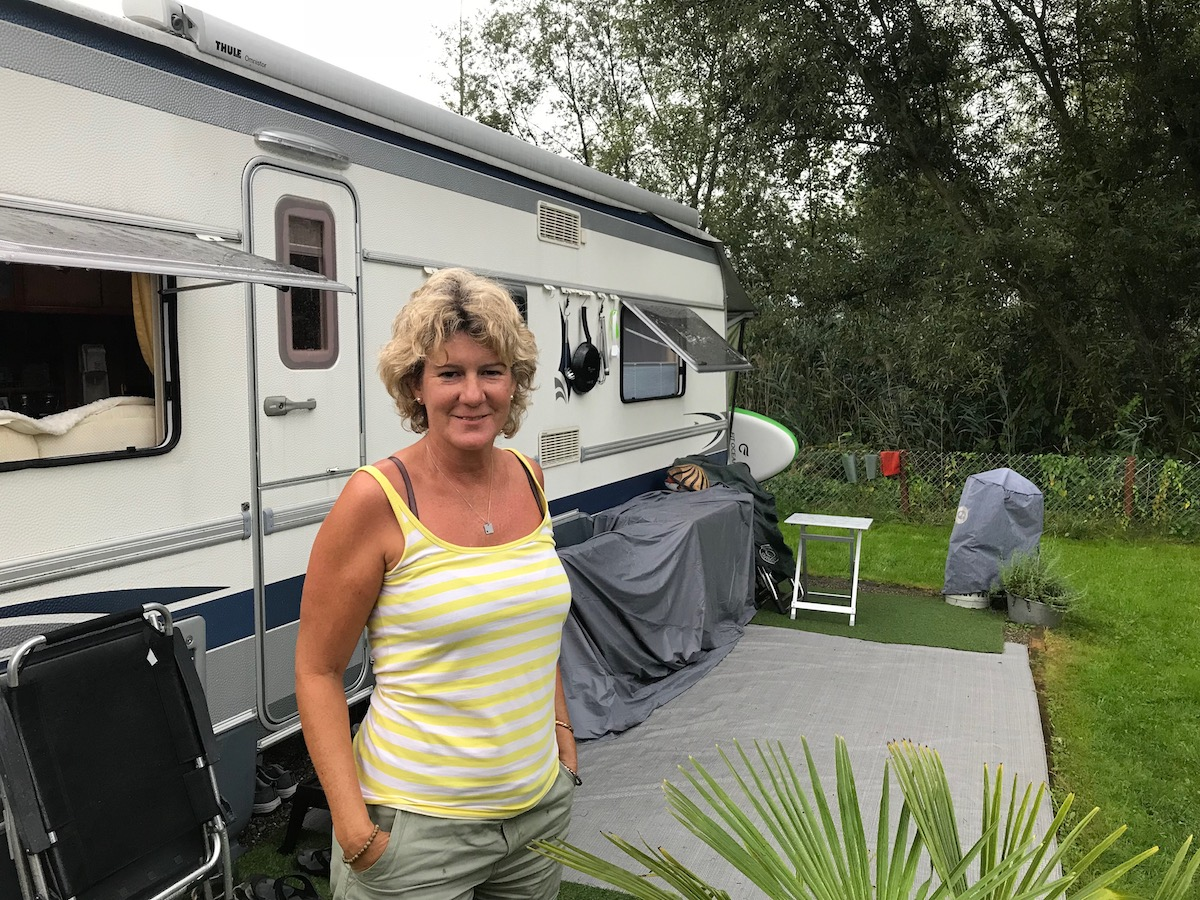 Yvonne Wyss ist eine der Saisoniers auf dem Platz. Im Winter arbeitet sie in Südafrika als Reiseleiterin.